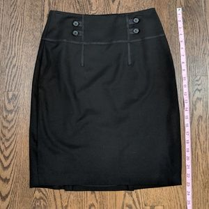 LIMITED pencil skirt, 6, black